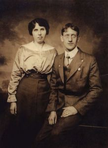May Curtis and her husband Charles Greenhill