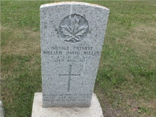 William's tombstone