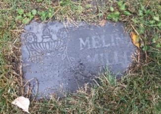 Malinda's tombstone