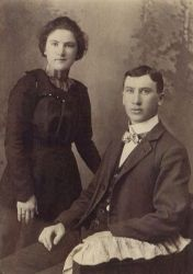 Joseph Albert with his sister Lydia